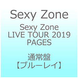 Sexy Zone/ Sexy Zone LIVE TOUR 2019 PAGES 通常盤