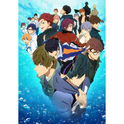 [Used] [3] Free! -Dive to the Future- VOL.3 DVD