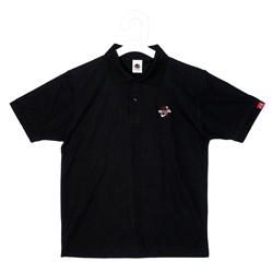 SNB ロゴ刺繍入りポロシャツ(Black)