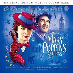 ディズニー / メリー・ポピンズ リターンズオリジナル・サントラ/英語歌唱盤 CD