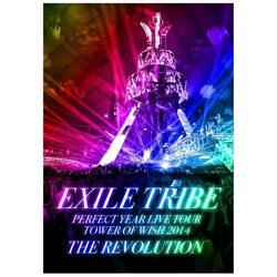 EXILE TRIBE PERFECT YEAR LIVE TOUR TOWER OF WISH 2014 〜THE REVOLUTION〜 初回生産限定豪華盤(5枚組) BD