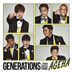 GENERATIONS from EXILE TRIBE/AGEHA(DVD付) 【CD】