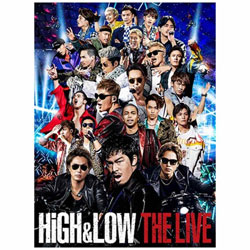 HiGH & LOW THE LIVE 通常盤 DVD