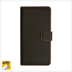 ZenFone 3(ZE552KL)用 薄型手帳ケース ブラック 3040552K