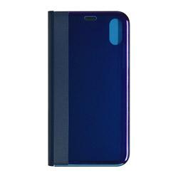 iPhone X用 ミスティック手帳型ケース ブルー 3367IP8A