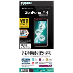 ASUS ZenFone 4(ZE554KL)用 衝撃吸収フルスペックフィルム 反射防止 JF864ZE554