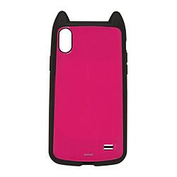 iPhone XR用 6.1 VANILLA PACK mimi 4308IP861HB マゼンタ