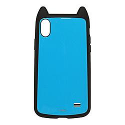 iPhone XS Max 6.5インチ用 VANILLA PACK mimi 4330IP865HB ミントブルー