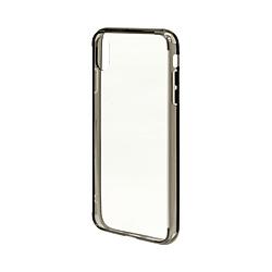 iPhone XS Max 6.5インチ用 ハイブリッドTPU/トライタン 4425IP865HB クリアブラック