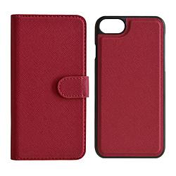 iPhone8/7/6s/6共用 2WAY手帳型ケース 5218IP747BO マゼンタ
