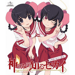 [Used] The World God Only Knows Tenri Hen [Blu-ray]