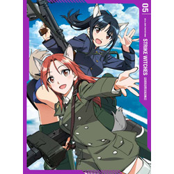 【店頭併売品】 ストライクウィッチーズ ROAD to BERLIN 第5巻 Blu-ray