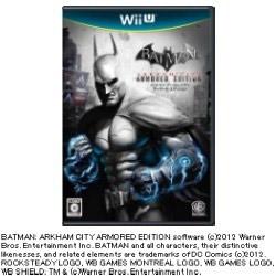 [使用]蝙蝠侠:阿甘之城装甲版WiiU的]