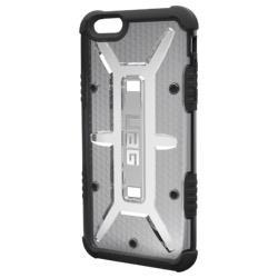 iPhone 6s Plus用 コンポジットケース クリアグレー UAG-RIPH6SPLS-ASH