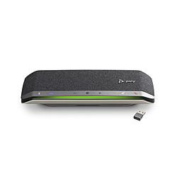 POLYCOM PPSYNC-RSY40BTM スピーカーフォン Bluetooth+USB-C・USB-A接続 / 音楽スピーカー / モバイルバッテリー Sync 40+-M(MicrosoftTeamsモデル BT600同梱)  [USB・充電式]