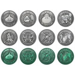 【BOX販売】ドラゴンクエスト お宝コインコレクションズ Vol.2 1BOX12個入