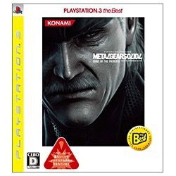 [Used] METAL GEAR SOLID 4 GUNS OF THE PATRIOTS PlayStation 3 the Best [PS3]