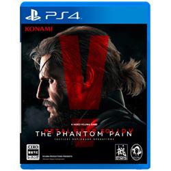 [Used] METAL GEAR SOLID V: THE PHANTOM PAIN (Metal Gear Solid V phantom pane) [PS4]
