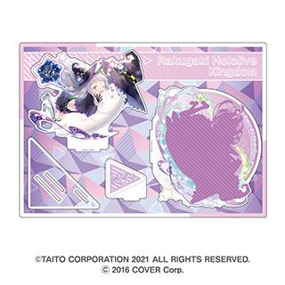 アルジャーノンプロダクト 「ラクガキキングダム」×「ホロライブ」ビッグアクリルジオラマ 紫咲 シオン