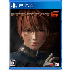 【在庫限り】 DEAD OR ALIVE 6 (デッド オア アライブ シックス) 通常版 【PS4ゲームソフト】