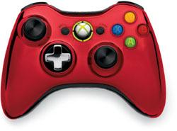 【純正】Xbox 360 ワイヤレスコントローラーSE(クローム レッド)【Xbox360】