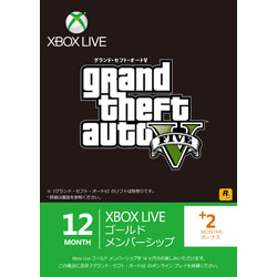 Xbox LIVE 12ヶ月+2ヶ月ゴールド メンバーシップ GTA V エディション【Xbox360】
