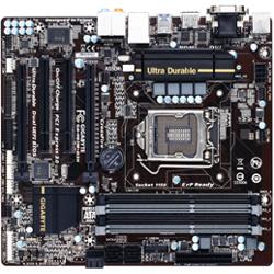 Micro ATXマザーボード [LGA1150・Intel H87・DDR3] GA-H87M-D3H