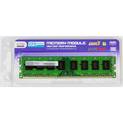 シーエフデー販売 エフ デー販売 CFD販売 デスクトップPC用メモリ PC-12800 DDR3-1600 8GB×1枚 240pin DIMM 無期限保証 Panramシリーズ D3U1600PS-8G