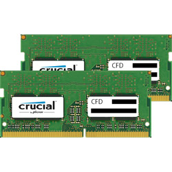 CFD ノートPC用メモリ PC4-19200 DDR4-2400 4GB×2枚 260pin 無期限保証 Crucial by Micron W4N2400CM-4G