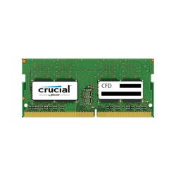 CFD ノートPC用メモリ PC4-19200 DDR4-2400 4GB×1枚 260pin 無期限保証 Crucial by Micron D4N2400CM-4G