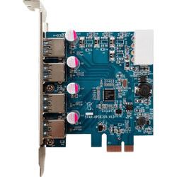 USB3.0RA-P4-PCIE (USB3.0 Type-A x4増設ボード/PCI-Express x1接続)
