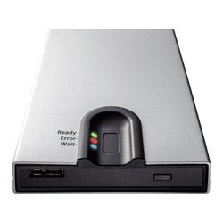 GW2.5-FEU3 (USB3.2接続 2.5型 SSD/HDDドライブケース 指紋認証モデル)