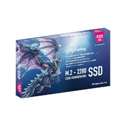 内蔵SSD PCI-Express接続 CFD Gamingモデル  CSSD-M2M5GPG4VNZ [M.2 /500GB]