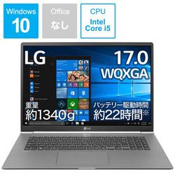 ノートPC LG gram 17Z990-VA56J ダークシルバー [Core i5・17.0インチ・SSD 256GB・メモリ 8GB]