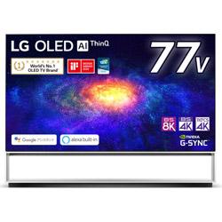 有機ELテレビ  ブラック OLED77ZXPJA [77V型 /8K対応 /BS 8Kチューナー内蔵 /YouTube対応]