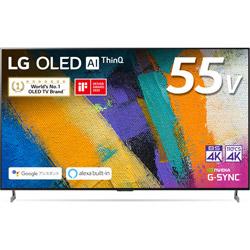 有機ELテレビ  ブラック OLED55GXPJA [55V型 /4K対応 /BS・CS 4Kチューナー内蔵 /YouTube対応]