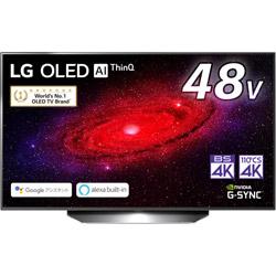 有機ELテレビ  ブラック OLED48CXPJA [48V型 /4K対応 /BS・CS 4Kチューナー内蔵 /YouTube対応]