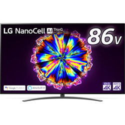 液晶テレビ  ブラック 86NANO91JNA [85V型 /4K対応 /BS・CS 4Kチューナー内蔵 /YouTube対応]