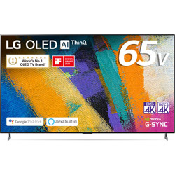 有機ELテレビ  ブラック OLED65GXPJA [65V型 /4K対応 /BS・CS 4Kチューナー内蔵 /YouTube対応]