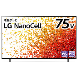 液晶テレビ   75NANO90JPA [75V型 /4K対応 /BS・CS 4Kチューナー内蔵 /YouTube対応 /Bluetooth対応]