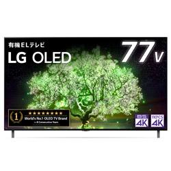 有機ELテレビ   OLED77A1PJA [77V型 /4K対応 /BS・CS 4Kチューナー内蔵 /YouTube対応 /Bluetooth対応]
