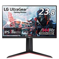 LG(エルジー) 24GN650-BAJP 23.8インチ 144Hz IPS 1ms(GTG) ゲーミングモニター LG UltraGear ブラック [23.8型 /フルHD(1920×1080) /ワイド]