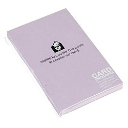 〔カード封筒〕 PASTEL [名刺サイズ適応 /20枚] リンドウ 0001-ENYBC-P-11