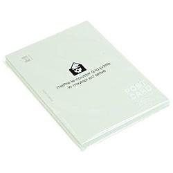 〔ポストカード〕 無地 PASTEL [はがきサイズ /50枚] ワカクサ 0001-PC2-P-05