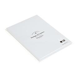 A5ペーパー100(アツクチ) Blanc de Blancs(ブラン・ド・ブラン)シリーズ スノー 0001-PR100-A5-01