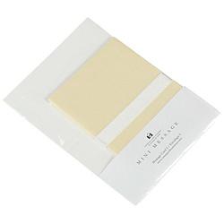 ミニメッセージセット(カード/封筒・各5枚) PASTEL(パステル) パステルイエロー 0001-MMC-P-21