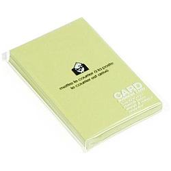 〔ビジネスカード〕 PASTEL [名刺サイズ /50枚] モエギ 0001-PRNBC-P-04