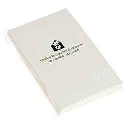 〔カード封筒〕 PASTEL [名刺サイズ適応 /20枚] アイボリー 0001-ENYBC-P-08