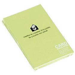 〔カード封筒〕 PASTEL [名刺サイズ適応 /20枚] モエギ 0001-ENYBC-P-04