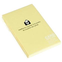 〔カード封筒〕 PASTEL [名刺サイズ適応 /20枚] ヤマブキ 0001-ENYBC-P-03